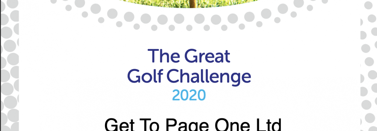 Get To Page One Ltd - The Great Golf Challenge 2020