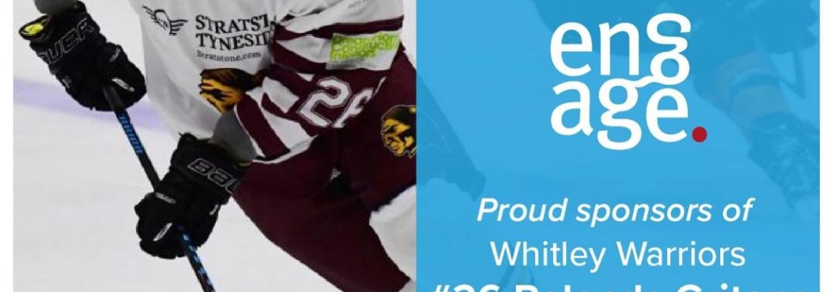 Whitley Warriors #26 Rolands Gritans Sponsor